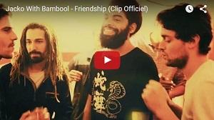 Jacko with Bambool Friendship